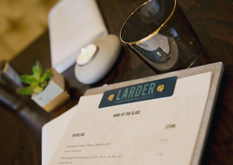 The Larder Menu