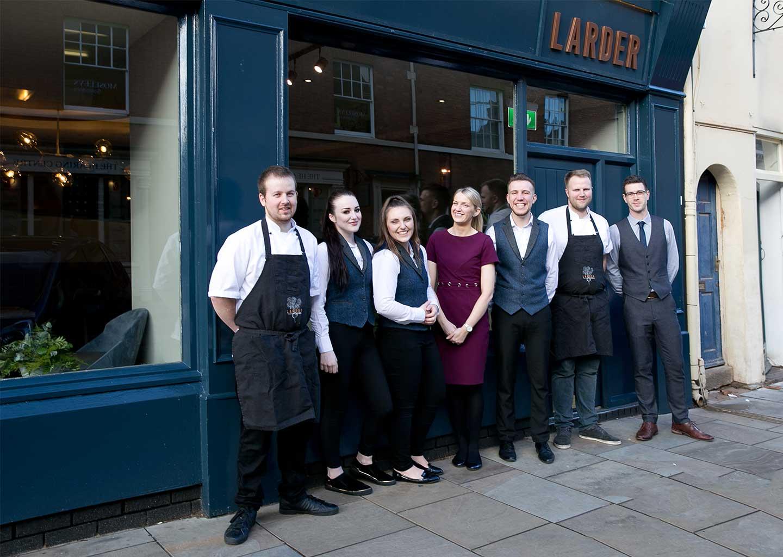 The Larder Lichfield Team
